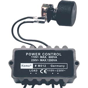 Motor and lamp controller module (dimmer) KEMO M012