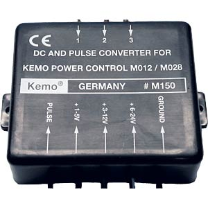 DC and pulse converter module KEMO M150