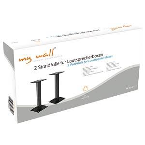 2 Standfüße für Lautsprecherboxen MYWALL HF40-2L