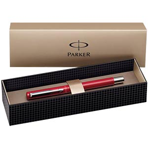 Fountain pen / nib F / red PARKER S0282490