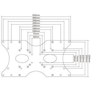 Universeller VESA Adapter PUREMOUNTS PM-ADAPT-B