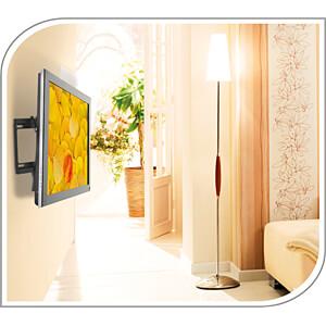TV-Wandhalterung, neigbar, 26 - 52, schwarz PUREMOUNTS PM-BT400