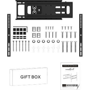 TV-Wandhalterung, neigbar, schwenkbar, 32 - 55, schwarz PUREMOUNTS PM-FM30-400
