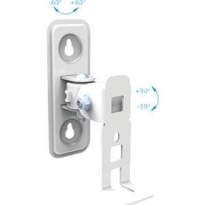 Lautsprecher-Halterung, max. 2 kg, weiß PUREMOUNTS PM-SOM-02