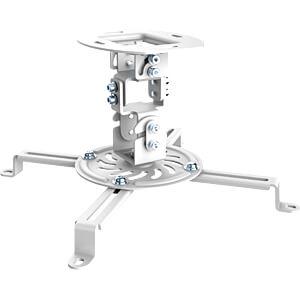 Deckenhalterung für Beamer, max. 13,5 kg, weiß PUREMOUNTS PM-SPIDER-10W