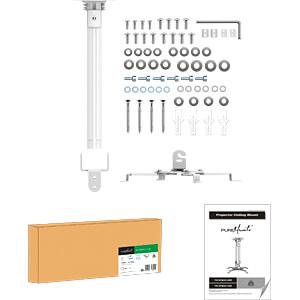 Deckenhalterung für Beamer, max. 13,5 kg, weiß PUREMOUNTS PM-SPIDER-30W