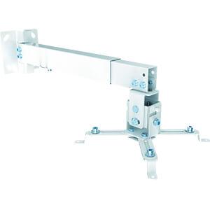 Deckenhalterung für Beamer, max. 20 kg, weiß PUREMOUNTS PM-SPIDER-40W