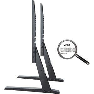 TV-Standfuß, 37 - 70, höhenverstellbar, max. 35kg, schwarz PUREMOUNTS PM-TVS-02