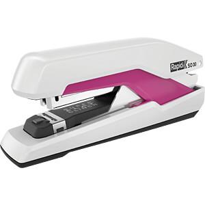 Heftgerät, bis zu 30 Blatt, weiß/pink RAPID 5000548