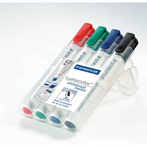 Whiteboard marker 2 or 5 mm / 4-colour STAEDTLER 351 B WP4