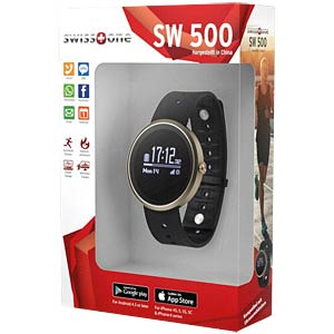 Fitnesstracker, Smart-Wearable, SW500 SWISSTONE 450302