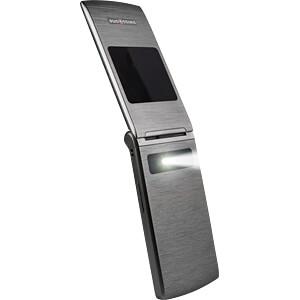 Mobiltelefon, Klapphandy, Dual-SIM, titan SWISSTONE 450046