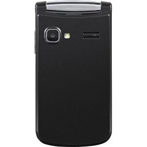 Mobiltelefon, Klapphandy, Dual-SIM, anthrazit SWISSTONE 450090