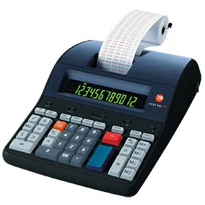 Desktop calculator with ribbon printing unit TRIUMPH-ADLER B4997000