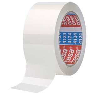 tesapack Premium, 66m x 50mm, weiß TESA 04124-00051-00