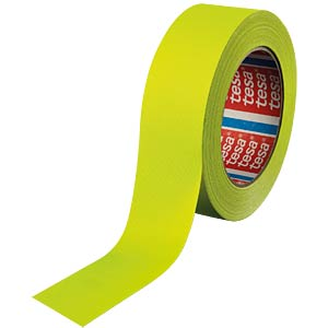 Highlight fabric tape, neon yellow, 38 mm TESA 04671-00058-10