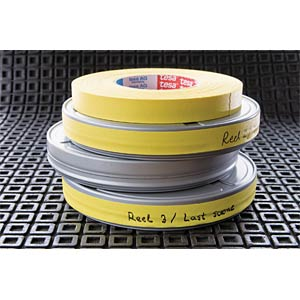 Gewebeband Highlight, 25 x 25 mm, neongelb TESA 04671-00054-10