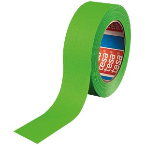 Highlight fabric tape, neon green, 38 mm TESA 04671-00060-10