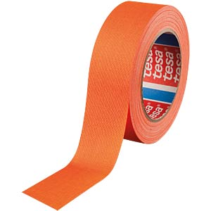 Highlight fabric tape, neon orange, 38 mm TESA 04671-00057-10