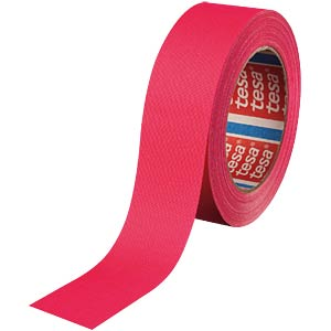 Highlight fabric tape, neon pink, 25 mm TESA 04671-00055-10