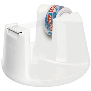 TESA desktop dispenser, white, up to 33 m x19 mm TESA 53837-00000-00