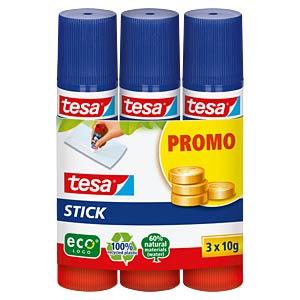 3x tesa® Stick ecoLogo 10g TESA 57087-00200-00