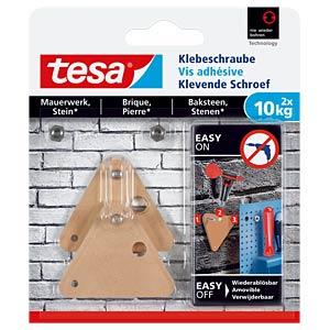 tesa® Klebeschraube dreieckig TESA 77907-00000-00