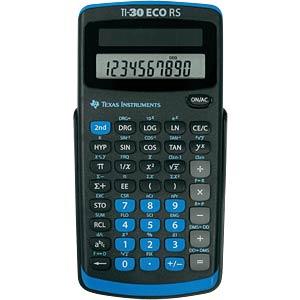 Wissenschaftlicher Taschenrechner TEXAS INSTRUMENTS 30 ECO RS