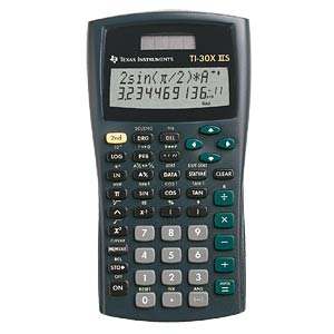 Pocket calculator TEXAS INSTRUMENTS 30X II S