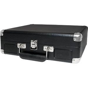 Draagbare USB-kofferplatenspeler LOGILINK UA0270