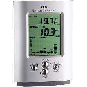 Radio rain gauge TFA DOSTMANN 47.3003