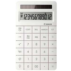 Desktop calculator, white CANON 8339B002