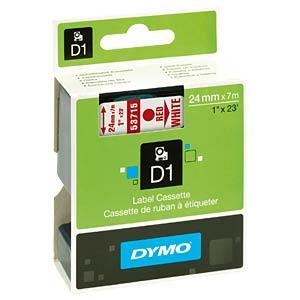 DYMO D1 Schriftband, 24mm, schwarz/grün DYMO S0720990