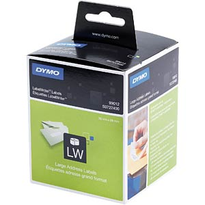 DYMO labels for LabelWriter, 36 x 89 mm DYMO S0722400