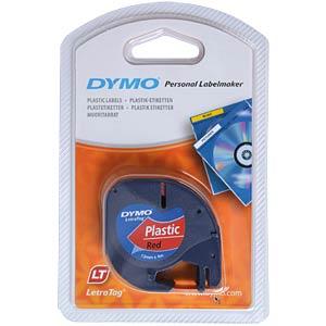 DYMO markeertape, plastic rood DYMO S0721680