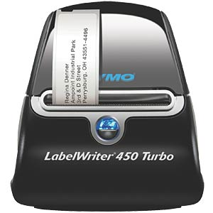 DYMO LabelWriter® 450 Turbo Service clients : +49 69 999 915 354 DYMO S0838820