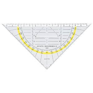 Geo-Dreieck mit Griff, Hypotenuse-Länge 160mm ARISTO AR 1553