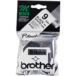 Brother M-Schriftband 9mm BROTHER MK221BZ
