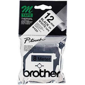 Brother M-Schriftband 12mm BROTHER MK231BZ