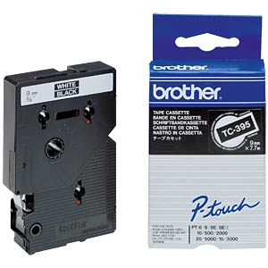 Brother Schriftbandkassette / 9mm / 7,7m BROTHER TC395