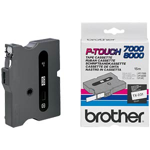 Brother TX-Schriftband 12mm BROTHER TX231