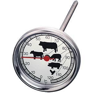 Stainless steel roasting thermometer TFA DOSTMANN 14.1002.60.90