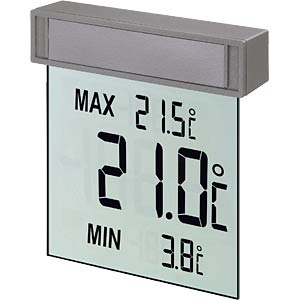 Vision Digitales Fensterthermometer TFA DOSTMANN 30.1025