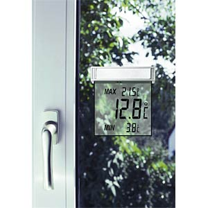 Vision digital window thermometer TFA DOSTMANN 30.1025
