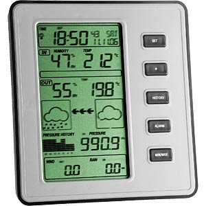 STRATOS wireless weather station TFA DOSTMANN 35.1077