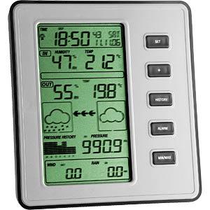 TFA DOSTMANN WS 1077 - Funk-Wetterstation STRATOS 35.1077