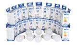 OPT SP1717PP : 100 LED bulbs E27