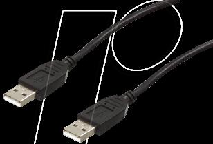 AK 669-5,0 EFB - USB 2.0 Kabel, A Stecker auf A Buchse, 5,0 m