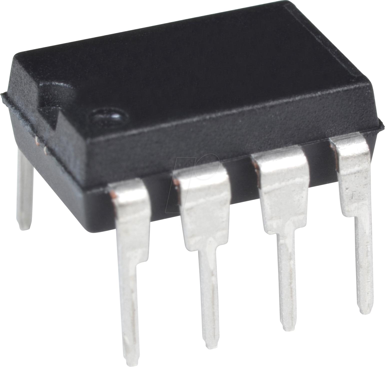 25LC010A-I/P - EEPROM, 1 kb (128 x 8), SPI, 10 MHz, 2,5 ... 5,5 V, DIP-8