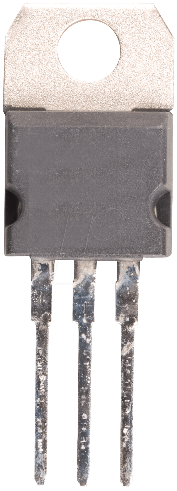 A 7805 Voltage Regulator Up To 15 Positive 220 At Reichelt 7805voltageregulator Lm7805 Circuit Hottech Semiconductor